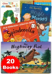 Julia Donaldson & Other Children 20 Book Photo