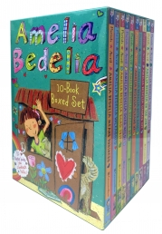 Amelia Bedelia Chapter Book 10-Book Box Set by Herman Parish