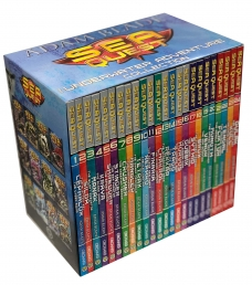 Adam Blade Sea Quest The Underwater Adventure Collection 24 Books Set Photo