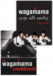 Wagamama Cookbook and Wagamama Ways With Noodles 2 Books Collection Set By Hugo Arnold Photo