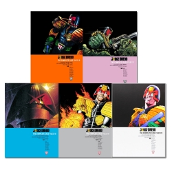 Judge Dredd - Complete Case Files Volume 16-20 Collection 5 Books Set - Series 4 - By John Wagner Photo