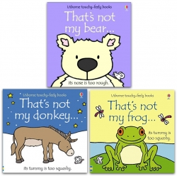 Thats Not My Animals Touchy Feely Series 3 Books Collection Set Photo