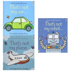 Thats Not My Boys Touchy Feely Series 3 Books Collection Set Photo