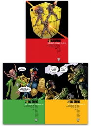 Judge Dredd Complete Case Files Volume 31-33 Collection 3 Books Set Series 7 By John Wagner by John Wagner