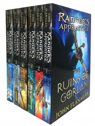 Rangers Apprentice 6 Books Collection Set Series 1 - Ruins of Gorlan, Burning Bridge, Icebound Land, Oakleaf Bearers, Sorcerer in the North