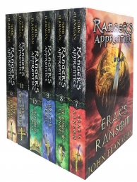 Rangers Apprentice 6 Books Collection Set - Series 2 - Eraks Ransom, Kings of Clonmel, Halts Peril, Emperor of Nihon-Ja, Lost Stories, Royal Ranger