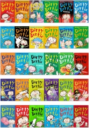 Dirty Bertie Series David Roberts 30 Books Collection Set Photo