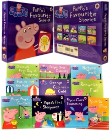 Peppa Pig Favourite Stories 10 Books Collection Set Photo