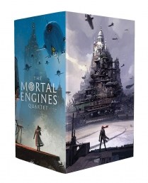 Philip Reeve Mortal Engines Quartet 4 Books Box Collection Set Photo