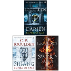 C.F. Iggulden Empire of Salt Series 3 Books Collection Set Photo