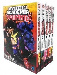 My Hero Academia Vigilantes 5 Books Collection Set - Vol 1-5 - Series 1 by Hideyuki Furuhashi, Betten Court (Illustrator)