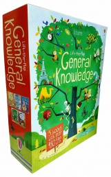 Usborne Lift The Flap General Knowledge 5 Books Box Collection Set (General Knowledge,Questions&Answers,How Things Work,See Inside Your Body and More) by Katie Daynes (Author), Colin King (Author), Conrad Mason, James Maclaine, Alex Frith