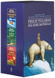 Philip Pullman His Dark Materials 3 Books Slipcase Collection Set (The Amber Spyglass, Subtle Knife, Northern Lights) Photo