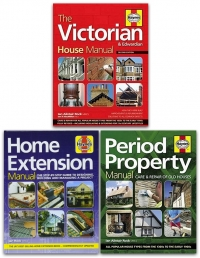 Haynes Property Manual 3 Books Collection Set (Home Extension, The Victorian House, Period Property) Photo