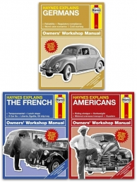 Haynes Explains 3 Books Collection Set (German, The French, Americans) by Boris Starling