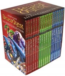 Beast Quest The Hero Collection 18 Books Box Set Series 1 - 3 by Adam Blade by Adam Blade