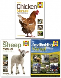 Haynes Farming Manual 3 Books Collection Set (Smallholding Manual, Sheep Manual, Chicken Manual) Photo