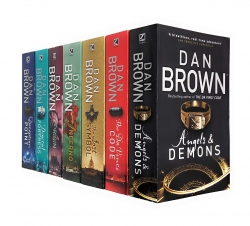 Dan Brown Robert Langdon Series 7 Books Collection Photo