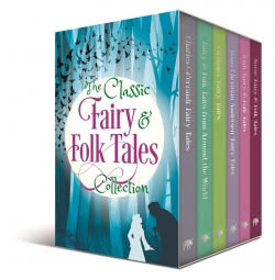 The Classic Fairy and Folk Tales 6 Books Box Collection Set Photo