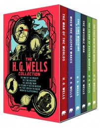The H.G. Wells 6 Books Box Collection Set Photo