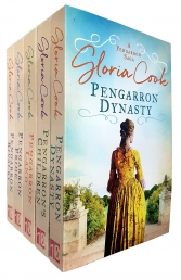 The Pengarron Sagas Series 5 Books Collection Set By Gloria Cook (Pengarron Land, Pride, Children, Dynasty, Rivalry) Photo