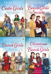 Daisy Styles The Bomb Girls 4 Books Collection Set Series 2 Photo