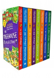 The Treehouse Collection 8 Books Box Set by Andy Griffiths and Terry Denton Photo