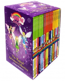 Rainbow Magic The Magical Adventure Collection 21 Books Set Sporty Fairies, Jewel Fairies, Weather Fairies Photo