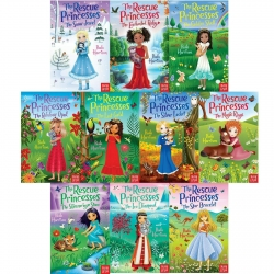 The Rescue Princesses 10 Books Collection Set By Paula Harrison Photo
