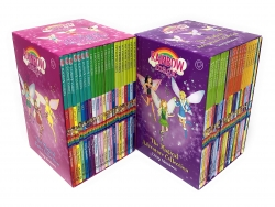 Rainbow Magic Series Collection 42 Books Set Colour Fairies, Weather Fairies, Party Fairies, Jewel Fairies, Pet Keeper Fairies, Sporty Fairies by Daisy Meadows