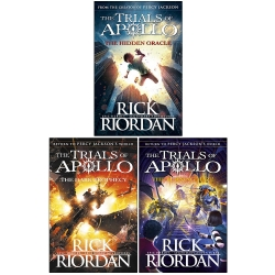 Rick Riordan Trials of Apollo Collection 3 Books Set (Dark prophecy, Hidden oracle, Burning maze) by Rick Riordan