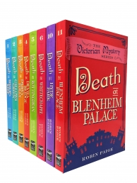 Robin Paige Victorian Mystery Series 8 Books Collection Set Photo