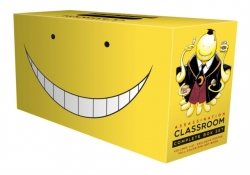 Assassination Classroom Complete Box Set: Includes volumes 1-21 with premium Photo