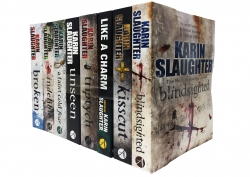 Karin Slaughter Will Trent and Grant County 8 Books Collection Set Photo
