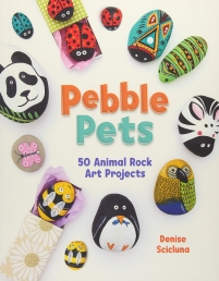 Pebble Pets - 50 Animal Rock Art Projects By Denise Scicluna Photo