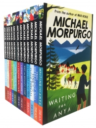 Michael Morpurgo Collection 12 Books Set -Waiting for Anya, From Hereabout Hill, King of the Cloud Forests, Kensukes Kingdom, Why the Whales and More by Michael Morpurgo