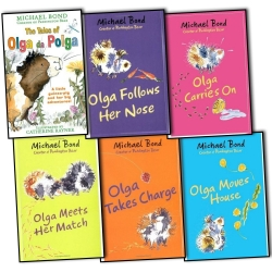 Michael Bond Olga da Polga Collection 6 Books Set Photo