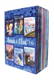 Disney Frozen Anna and Elsa 6 Books Set Collection By Erica David - Books 1-6 by Erica David