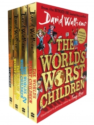 David Walliams Worlds Worst Children 4 Books Collection Set Photo