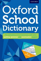 Oxford School Dictionary Fully Revised For Students HARDCOVER Photo