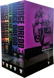 Judge Dredd Complete Case Files Volume 1-5 Collection 5 Books Set - Series 1 - By John Wagner Photo