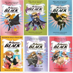 The Princess in Black 6 Book Set Action & Adventure, Humor & Funny Stories Photo