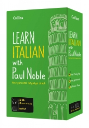 Learn Italian with Paul Noble Collins 12 CDs, Book Photo
