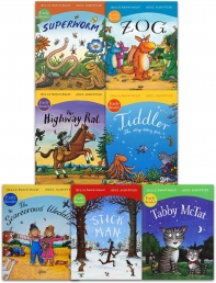 Julia Donaldson and Axel Scheffler Early Readers 7 Books Collection Set Photo