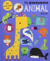 My Awesome Animal Book Illustrated With Animal Shaped Pages Photo