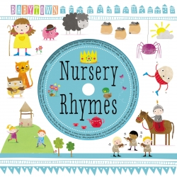 Babytown Nursery Rhymes Children Illustrated Board Book With CD Photo
