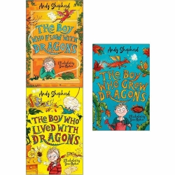 The Boy Who Grew Series 3 Books Collection Set by Andy Shepherd Photo