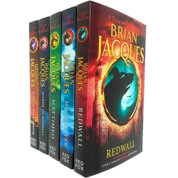 Brian Jacques Redwall Series 5 Books Collection Set Photo