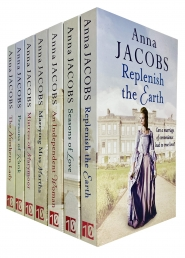 Anna Jacobs Collection 7 Books Set - The Northern Lady, Persons of Rank, Marrying Miss Martha, Mistress of Marymoor, Replenish the Earth and More Photo
