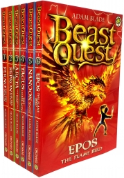 Beast Quest Set Series Collection 6 Books Set Series 1 by Adam Blade